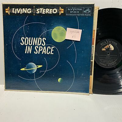 Sounds In Space RCA SP 33 13 VG++/VG+ Exotica Pop Living Stereo
