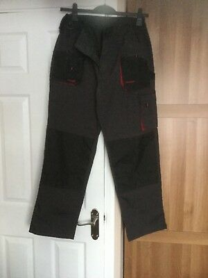 Trousers Mens Cargo Combat Style Heavy Duty With Knee pad pockets (NEW)