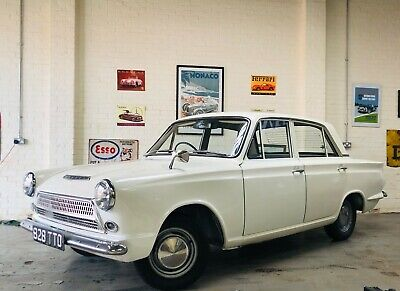 1963 Ford Cortina Consul 1200 Deluxe Rhd, Uk Supplied, Low Owners, Value
