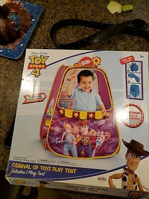 "OFFICIAL Movie Toy Story 4 Pop Up Play Tent ""Carnival Of Toys"" / Kids / Children"