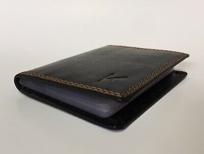 Leather Wallet RFID Safe Kaiser Craft Style Hand Made Men's RFID Blocking Credit