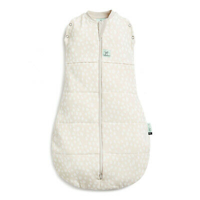 ErgoPouch Organic/Cotton 2.5 TOG Cocoon Swaddle Bag 0-3 M for Baby/Infant Fawn