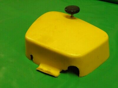 Used OEM FACTORY YELLOW BATTERY BOX SIDE COVER 1970-1974 HONDA CT90 TRAIL OEM