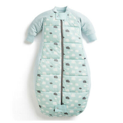 ErgoPouch Organic/Cotton 3.5 TOG Sheeting Sleep Bag 8-24M for Baby/Toddler Mint