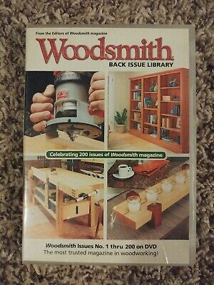 WOODSMITH Magazine Back Issue Library 1-200 on PC DVD-ROM
