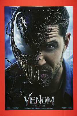 B-521 Venom Movie Poster Tom Hardy 2018 New Custom Art Film 27x40 Fabric Poster