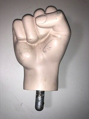 Vintage Mannequin Male Right Hand Fist                DP-3