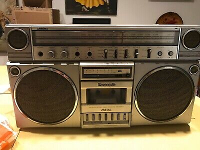 Vintage Panasonic Ambience RX-5150 Boombox- Tested & Works Ghetto Blaster!!!!