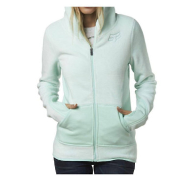 Special Fox Racing Womens Sleet Lush Zip Up Hoodie Fleece Sweatshirt Jacket XS S