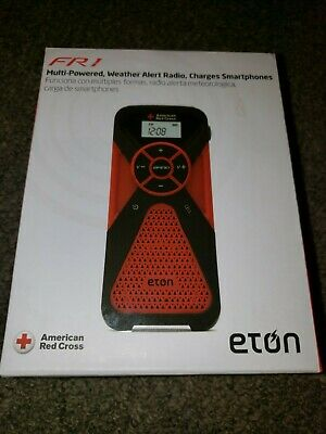 Eton American Red Cross Multi-Powered Weather radio,am/FM radio, phone charger