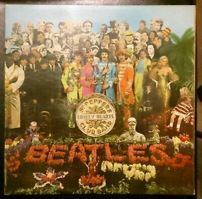 The Beatles - Sgt. Peppers Lonely Hearts Club Band - VG/VG 1967 Vinyl LP