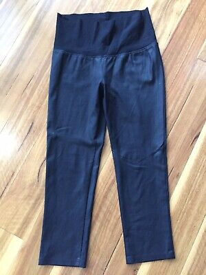 Soon Maternity Coated Leather Look Maternity Pants Size 12