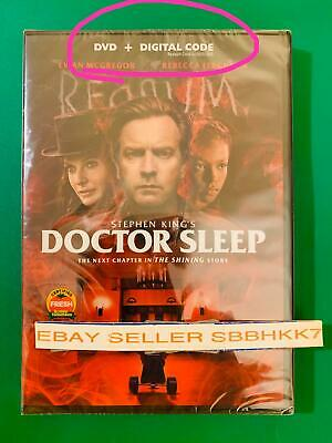 Doctor Sleep DVD + DIGITAL CODE {{AUTHENTIC READ DESCRIPTION|||New Free Shipping