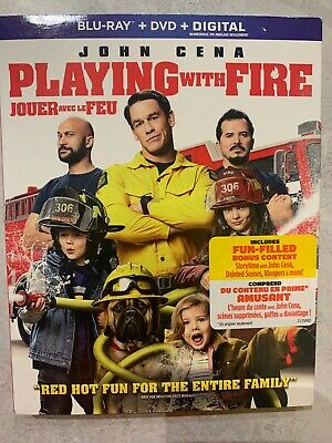 Playing With Fire Blu-Ray & DVD Slipcover Canada Bilingual NO DC LOOK