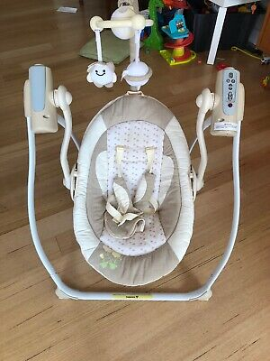Babylove Baby Swing, Soothing Rocker With Remote. Hardly Used.
