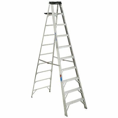 Werner 310 10' Type 1A Aluminum Step Ladder