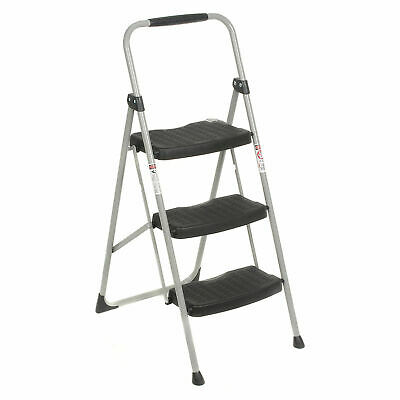 Werner 223-6, 3 Step Steel Folding Step Ladder 225 lb. Cap