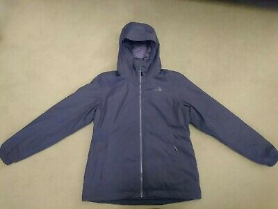 The North Face HyVent Ladies Waterproof Breathable Hooded Jacket. Large Purple