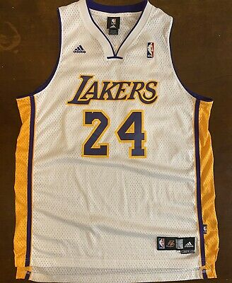Adidas NBA Los Angeles LA Lakers Kobe Bryant Home Basketball Jersey