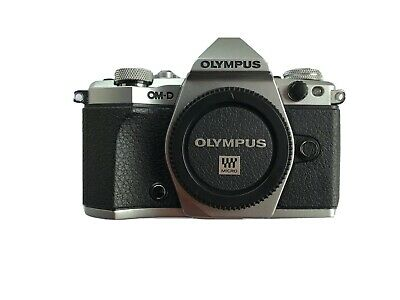 Olympus OM-D e-M5 Mark ii Body, Silver With 6 Month Manufacturer Warranty