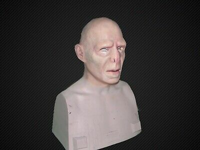 Voldemort Silicone HALF MASK Harry Potter collectors Halloween Mask