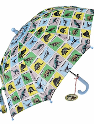 Dinosaur prehistoric animal childrens umbrella boys school brolly nursery gift