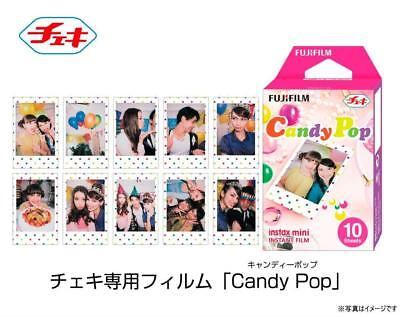 Fujifilm MAIN-37944 Instax Mini Candy Pop Instant Film (10 Color Prints)