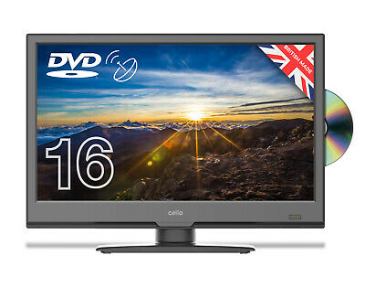 "Cello 16"" Inch Full Hd Led Tv With Freeview Hd Dvd & Satellite Tuner - Brand New"