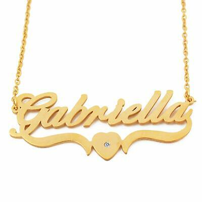 Kigu Maggie Custom Name Necklace Personalized 18ct Gold Plated
