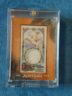 2018 PEGASUS Fabled Relics by Allen & Ginter Topps Card MFAR-PE #14/25
