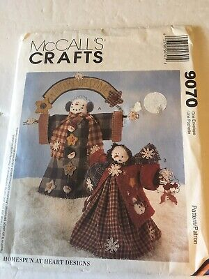 Crafts McCall's 9070 Wintery Welcome 1997 Vtg UNCUT