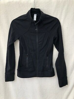 IVIVVA by Lululemon Perfect Your Practice Jacket Size 12 Black Classic