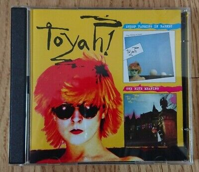 RARE TOYAH Sheep Farming In Barnet & The Blue Meaning CD rare OOP