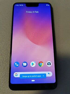 Google Pixel 3 XL - 64GB - Just Black (Unlocked)