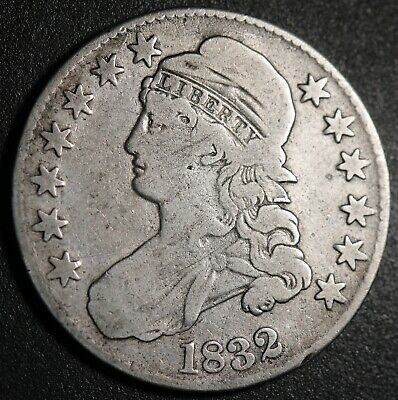 1832 - Capped Bust Half Dollar
