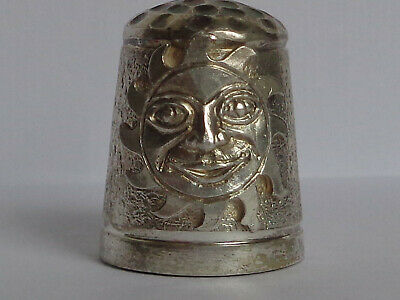 Lovely Sterling Silver Swann Thimble (TCG) Hallmarked for Birmingham 1997