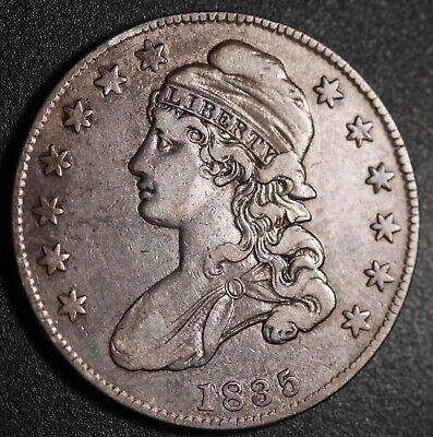 1835 - Capped Bust Half Dollar - Better Grade