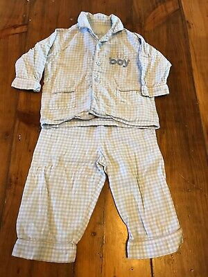 Baby Boys Mothercare Pyjamas Age 6-9 Months