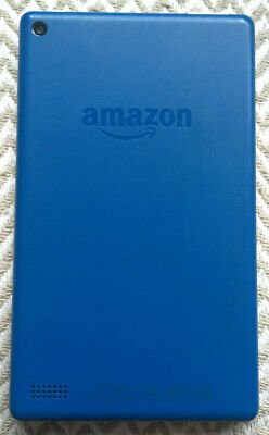 Fully working Blue Amazon Kindle Fire 7 tablet -7th Generation 8Gb storage (4)