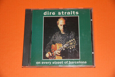 Dire Straits - On Every Streets To Barcelona (Cd) Rare Cd Live 1992 Silver Disc
