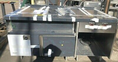 Delfield Steam Table  with Refrigerated Side Mark7000-20110Z626