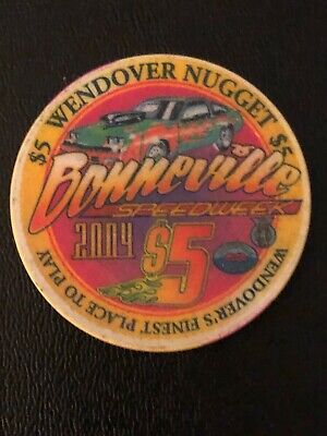 Wendover Nugget Limited Edition Casino Chip  Wendover Nevada Issued 2004