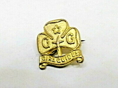 Small Girl Guides Badge / Pin Size 12Mm X 12Mm