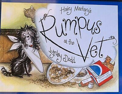 Hairy Maclary - Rumpus At The Vet by Lynley Dodd - Hardcover, Brand New