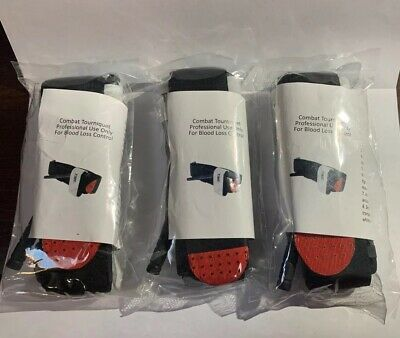 2 Piece Combat Tourniquet First Aid Quick Buckle Emergency Strap One Hand Medica