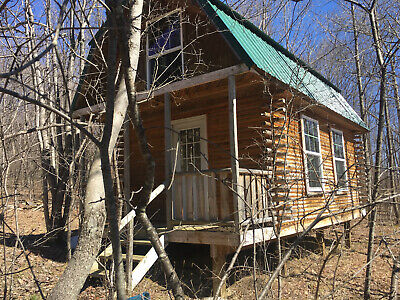3.5 Acres NY Land 440 S.F. Log Cabin Lot 15B FINANCING NO RESERVE PA Woods Hunt