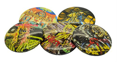 Iron Maiden-Early Albums (Button Badge Set) New