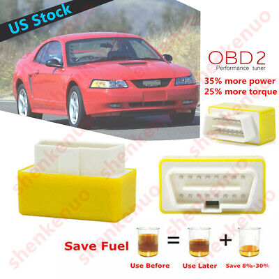 5.3L 6.0L V6//V8 OBD2 Performance Chip--Save Gas For FORD Mustang 2015-2019 US