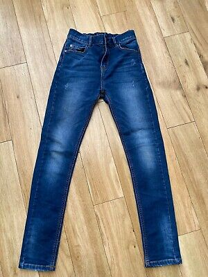 Next Boys Super Skinny Jeans Blue Age 12