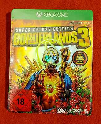 Borderlands 3 - Super Deluxe Edition - XBOX ONE - Neu & eingeschweißt